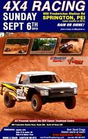 Maritime Off Road Truck Racing - PROCEEDS to the QEH