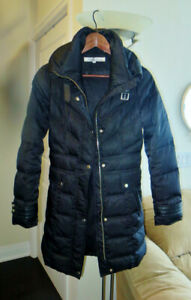 Kenneth Cole Long Winter Puffer Coat size XS $70