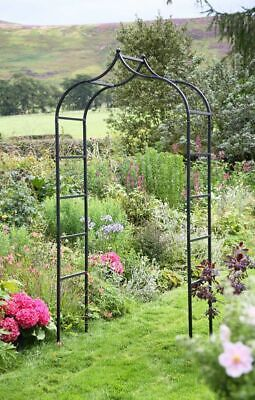 Tom Chambers Baroque Metal Garden Arch Archway 2.4m High