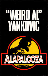 Weird Al Yankovic - Alapalooza on cassette