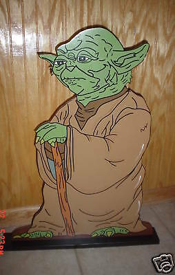 Star Wars YODA stand up children's birthday party decorations supplies](Yoda Party Supplies)
