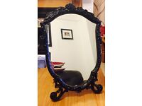 Spelter Dressing Table Mirror