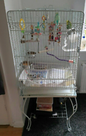 *Quick Sale*Large Bird Cage With Accessories