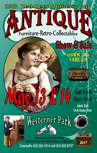 Red Deer Mother's Day  Antique & Retro Show & Sale