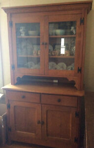Antique Solid wood hutch