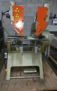 Used Double Head Rivet Machine in Good condition.
