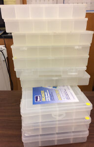 Lot 10 of tackle boxes - organize your life!