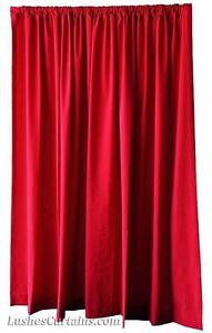 extra long large curtains