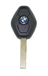 Uncut Blade Keyless Entry Remote Shell Replacement For BMW 3 5 7