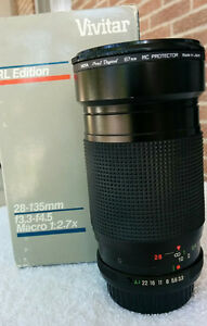 Vivitar 28-135mm F3.3-4.5 with 67mm Clear Filter London Ontario image 4