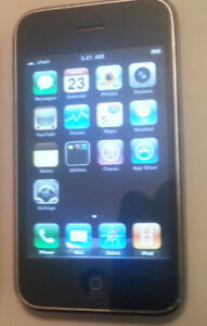 Black iPhone 3G with Rogers