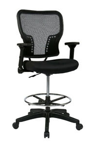SPACE Seating Deluxe Air Grid Back craft chair