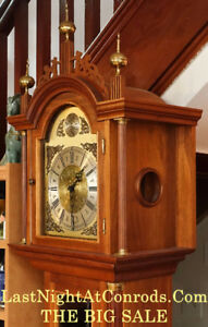 Antique German Black Forest Grandfather Clock