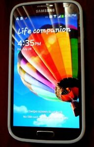 Samsung S4 Pristine Condition Used for 4 weeks
