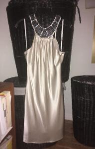 Elegant Silk Evening  Dress