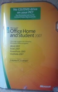 Brand New (unopened) Office 2007 Home & Student Edition Software