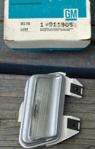 1973 Buick Electra 225 Left Side Licence Plate Light.