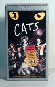 VHS – CATS Musical 2 tape set (NEW)