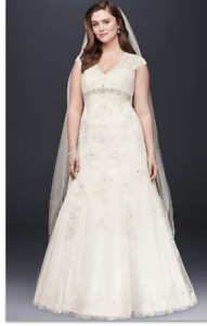 Gorgeous Plus Size Wedding Dress for Sale