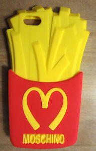 NEW IPHONE 6/ 6S 3D French Fries Silicone Back Cover Skin Case