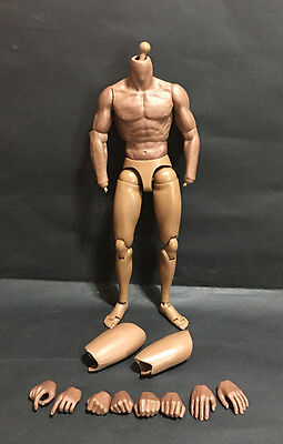In Stock Zc Toys 1 6 Scale 2 0B African Muscular Figure Body Similar To Ttm19