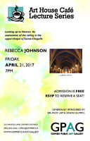 Art House Cafe Lecture Series: Rebecca Johnson