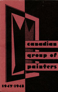 CANADIAN GROUP OF PAINTERS 1947-1948 London Ontario image 1