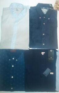 4 New Scotch & Soda shirts size small All for $80