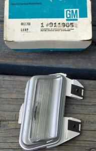 1973 Buick Electra 225 Left Side Licence Plate Light