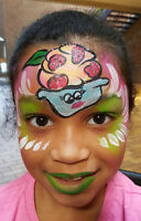AMAZING PAINTED FACESE FACE PAINTER AND BODY ART
