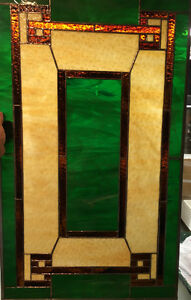 """34.75"""" x 20.75"""" Stained Glass"""