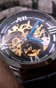 Custom Made Skeleton Watch [BRAND NEW]