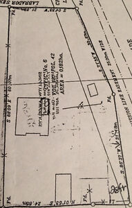 Land with basement on 100 x 200 Lot