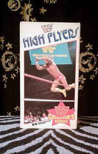 Vintage-WWF-HIGH-FLYERS-Coliseum-1989-VHS WWF Collector's Series