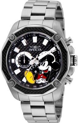 Invicta 27351 Disney Limited Edition Men's Chronograph 48mm Steel Black Dial