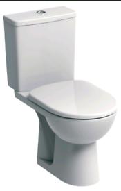 Twyford Toilet+cistern+seat+inner workings, basin, Bristan mixer tap