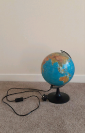 World globe light 🌏