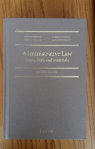 Administrative Law : cases, text, and materials, Gus Van Harten