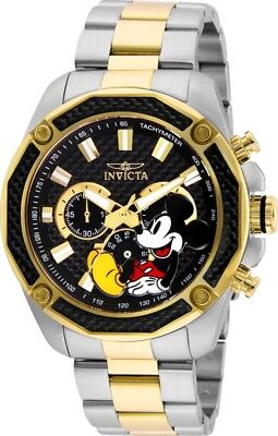 Invicta 27359 Disney Limited Edition Men's Chronograph 48mm Two-Tone Watch