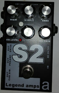 AMT-S2 (Soldano) two channel preamp an distortion pedal