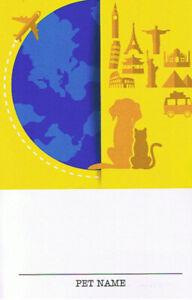 Pet Passport / Diary
