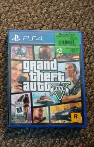 GTAV for PS4 - No scratches, great condition