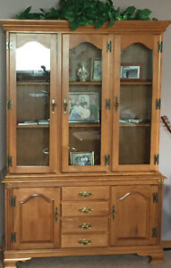 Roxton display cabinet
