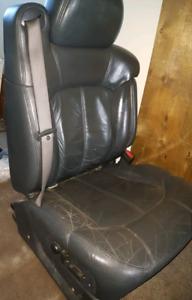 Silverado Leather Power Seat