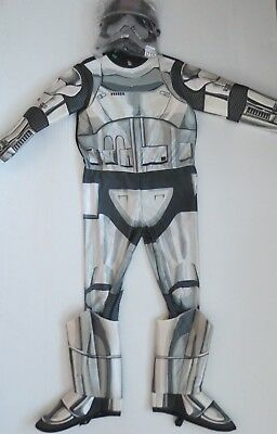 Star Wars Storm Trooper Kids Costume With Mask - Size M - NWT - Storm Trooper Kids Costume