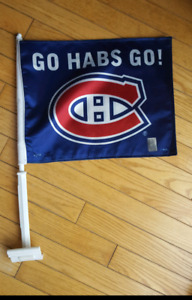 Car Flag NHL Canadiens