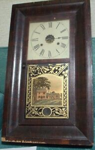 "New Haven ""Ogee"" Weight driven Pendulem Clock"