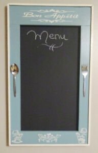Vintage style chalkboard