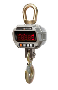 crane scale with IR remote, 1 yr warranty  0.5 ton, 5 ton