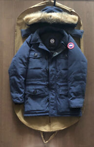 Men's Canada Goose Chateau Parka - Size Small, Spirit Blue